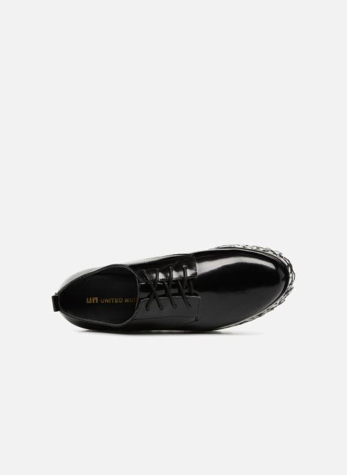 Chaussures à lacets United Nude Juko Pop Noir vue gauche