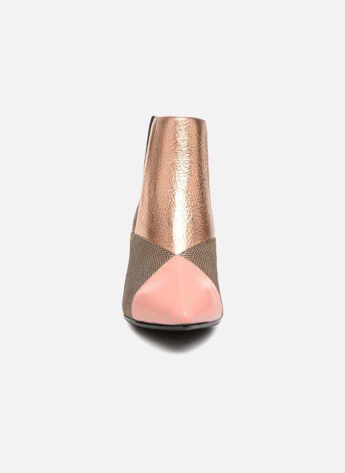 Bottines et boots United Nude Zink Patch mid Multicolore vue portées chaussures