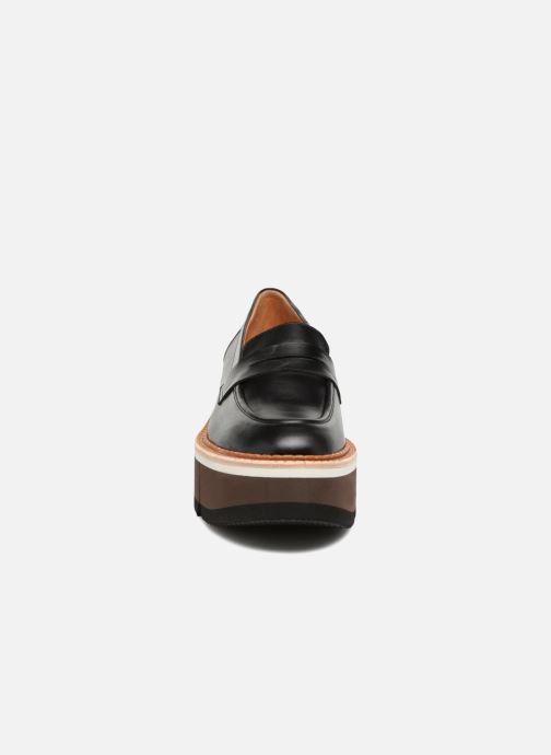 Mocassins Clergerie Benedict Noir vue portées chaussures