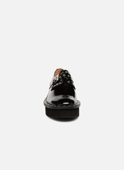 Lace-up shoes Clergerie Bridget Black model view