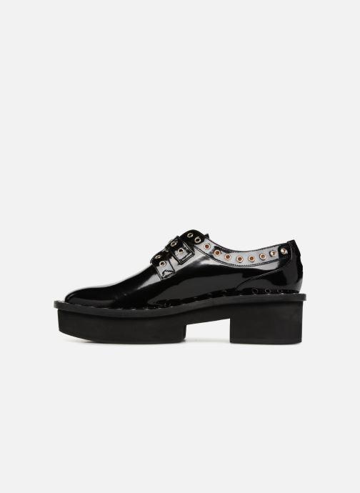 Lace-up shoes Clergerie Bridget Black front view