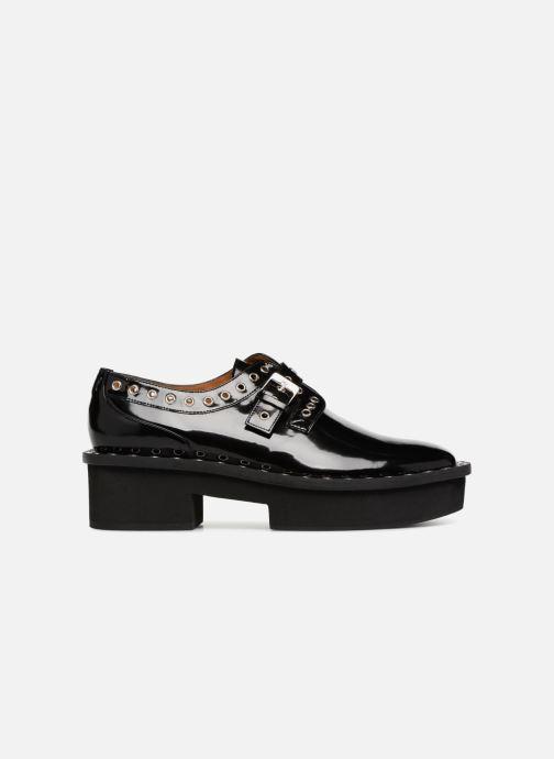 Zapatos con cordones Clergerie Bridget Negro vistra trasera