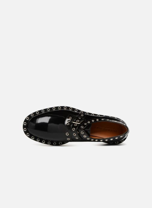 Zapatos con cordones Clergerie Bridget Negro vista lateral izquierda