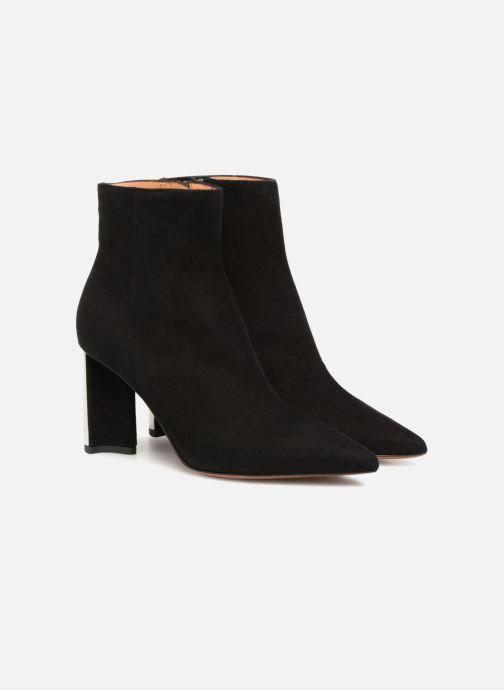 Bottines et boots Clergerie Katia Noir vue 3/4