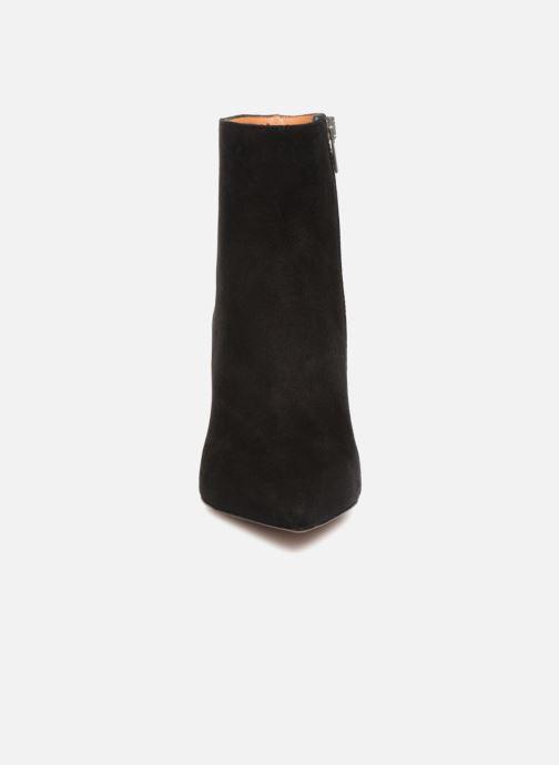 Clergerie Bottines Boots Velour Katia Noir Et Chevre xWrdBoEQCe