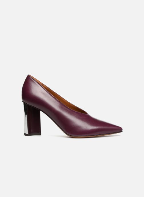High heels Clergerie Kathleen Purple back view