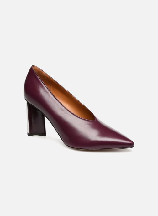 High heels Clergerie Kathleen Purple detailed view/ Pair view