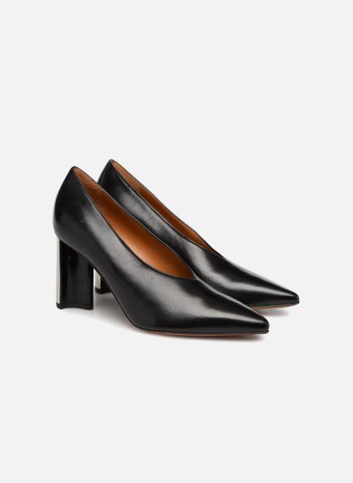 Zapatos de tacón Clergerie Kathleen Negro vista 3/4