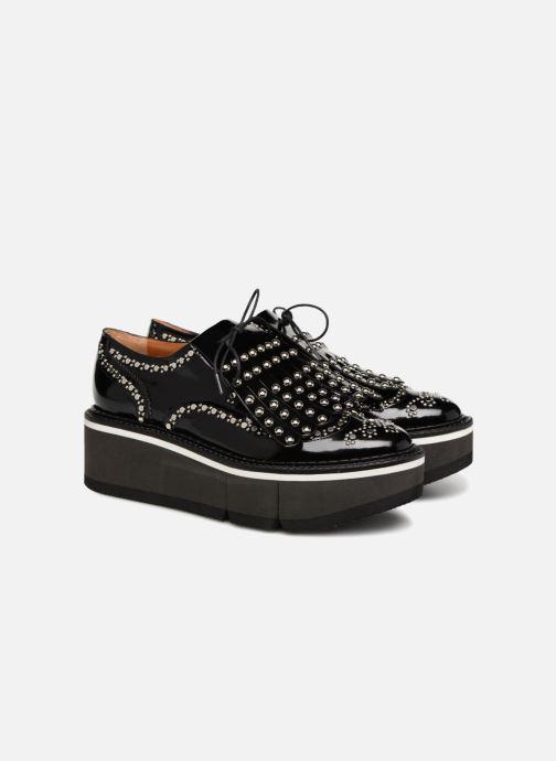Chaussures à lacets Clergerie Boelou Noir vue 3/4
