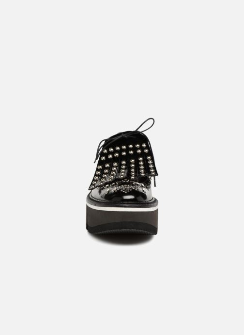 Chaussures à lacets Clergerie Boelou Noir vue portées chaussures