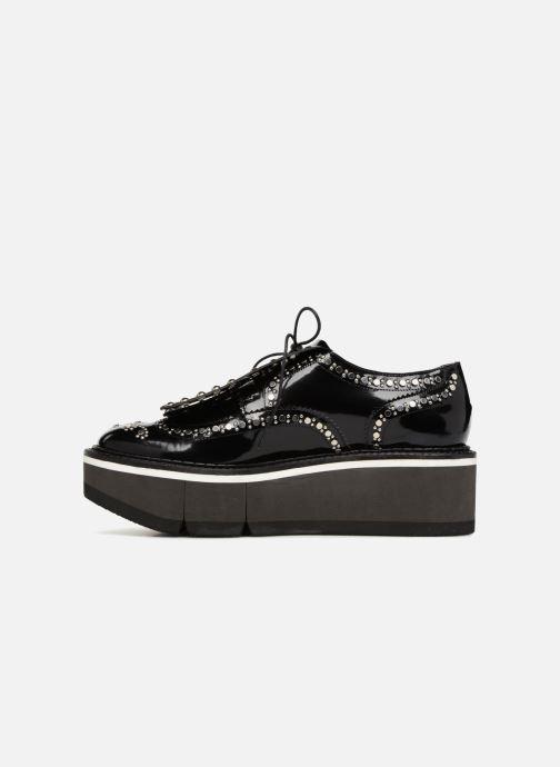 Chaussures à lacets Clergerie Boelou Noir vue face