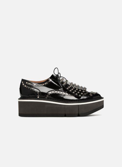 Chaussures à lacets Clergerie Boelou Noir vue derrière