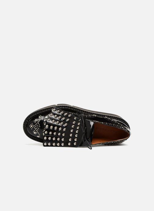 Chaussures à lacets Clergerie Boelou Noir vue gauche