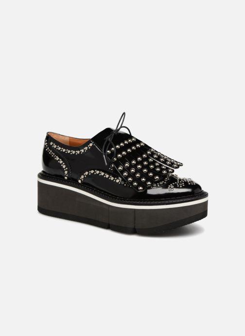 Chaussures à lacets Clergerie Boelou Noir vue détail/paire