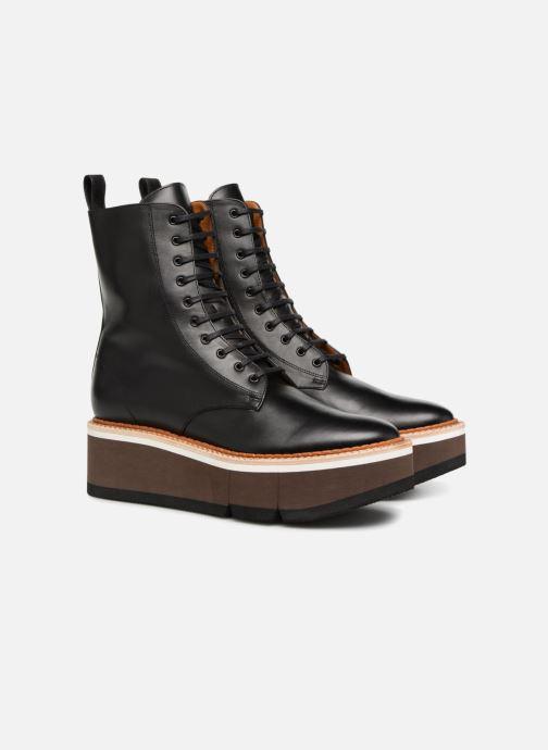 Bottines et boots Clergerie Berenice Noir vue 3/4