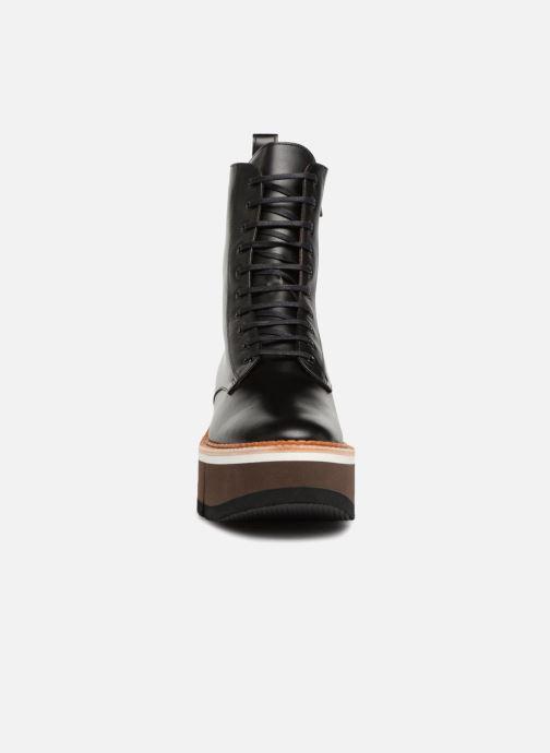 Bottines et boots Clergerie Berenice Noir vue portées chaussures