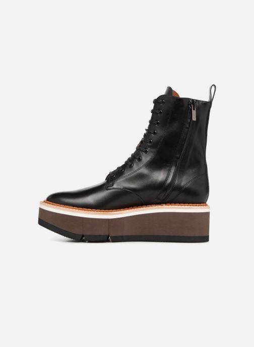 Bottines et boots Clergerie Berenice Noir vue face