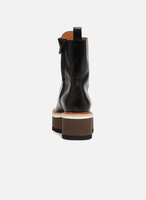 Bottines et boots Clergerie Berenice Noir vue droite