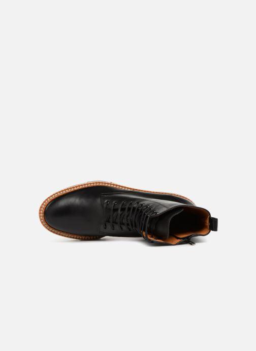 Bottines et boots Clergerie Berenice Noir vue gauche