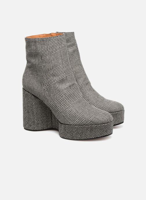 Boots en enkellaarsjes Clergerie Belent Grijs 3/4'