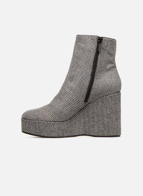 Boots en enkellaarsjes Clergerie Belent Grijs voorkant