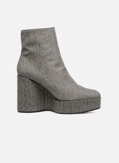 Boots en enkellaarsjes Clergerie Belent Grijs achterkant