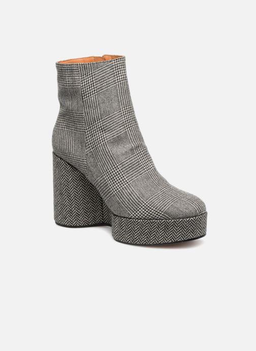 Boots en enkellaarsjes Clergerie Belent Grijs detail