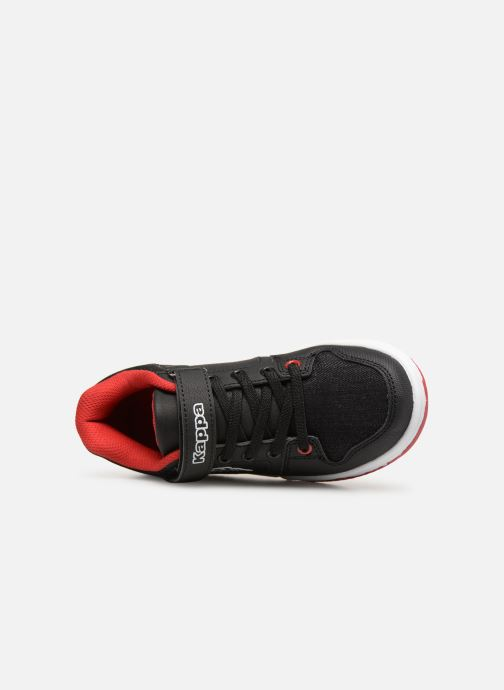 Trainers Kappa Karter Low EV Black view from the left