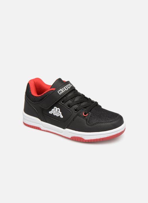Sneakers Kappa Karter Low EV Zwart detail