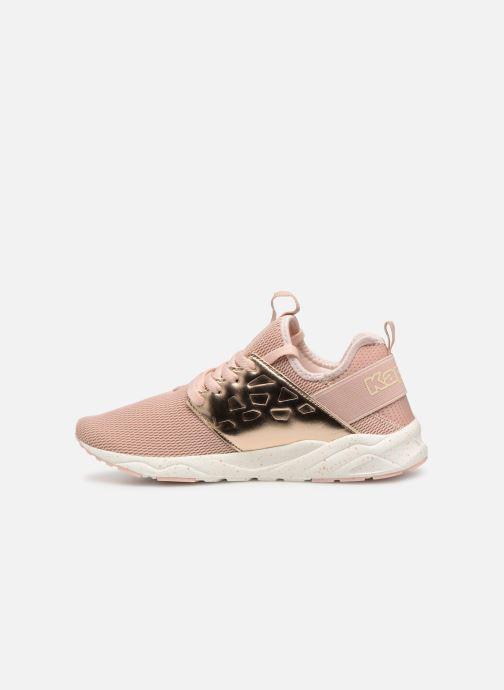 Sneaker Kappa San Antonio rosa ansicht von vorne