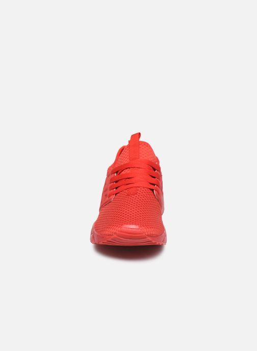 Baskets Kappa San Antonio Rouge vue portées chaussures