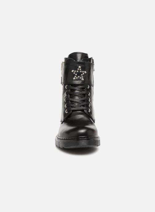 Bottines et boots Bullboxer Elvira Noir vue portées chaussures