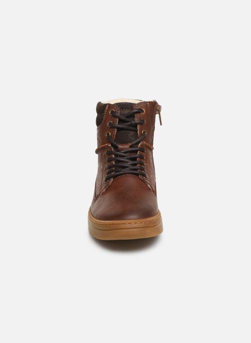 Bottines et boots Bullboxer Jakob Marron vue portées chaussures