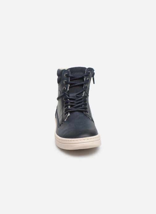 Bottines et boots Bullboxer Jakob Bleu vue portées chaussures