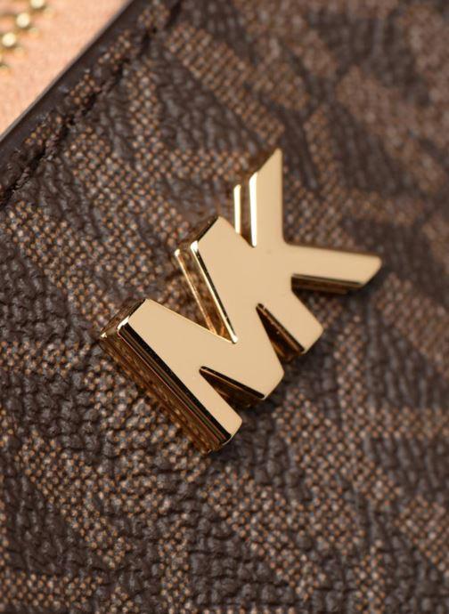 Bolsos de mano Michael Michael Kors GALA MD TOTE Marrón vista lateral izquierda