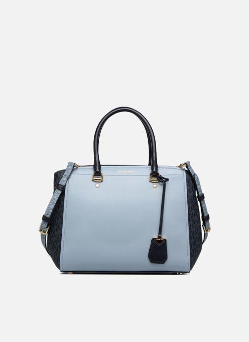 5c1c47bfc761b Handtaschen Michael Michael Kors BENNING LG SATCHEL blau detaillierte  ansicht modell