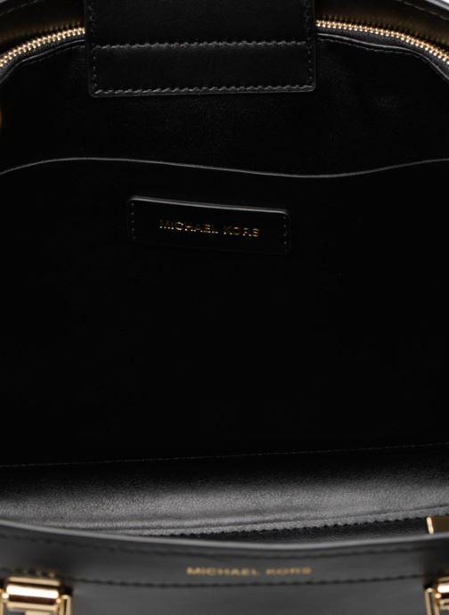 Sacs à main Michael Michael Kors BENNING LG SATCHEL Noir vue derrière