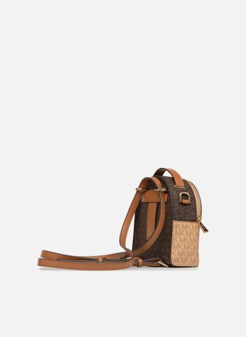 20b6fd882643 Rucksacks Michael Michael Kors Jessa XS Convertible Backpack Brown view  from the right