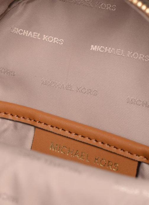 5423f93da088 Rucksacks Michael Michael Kors Jessa XS Convertible Backpack Brown back view