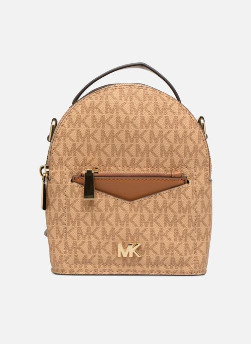d903b37c2687 Rucksacks Michael Michael Kors Jessa XS Convertible Backpack Brown detailed  view  Pair view