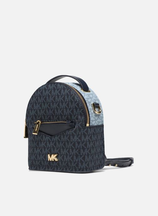 Rucksacks Michael Michael Kors Jessa XS Convertible Backpack Blue model view