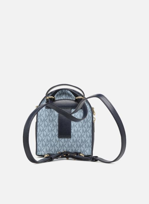Rucksacks Michael Michael Kors Jessa XS Convertible Backpack Blue front view