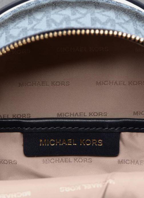 Rugzakken Michael Michael Kors Jessa XS Convertible Backpack Blauw achterkant