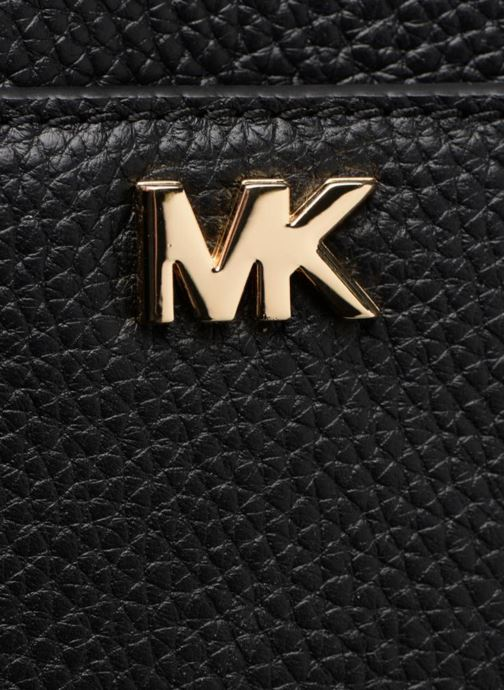 Sacs à main Michael Michael Kors Mini GTR Stripe Crossbody Noir vue gauche
