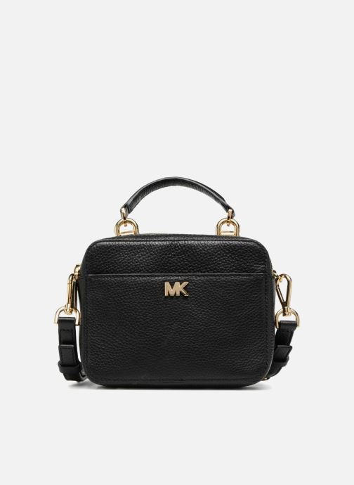Handtaschen Michael Michael Kors Mini GTR Stripe Crossbody schwarz detaillierte ansicht/modell
