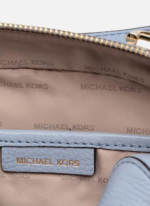 Handtassen Michael Michael Kors Mini GTR Stripe Crossbody Blauw achterkant