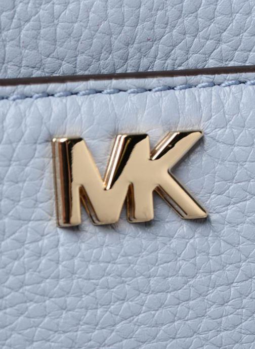 Handtassen Michael Michael Kors Mini GTR Stripe Crossbody Blauw links