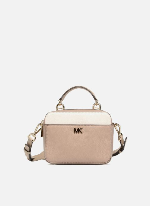 Handbags Michael Michael Kors Mini GTR Stripe Crossbody Beige detailed view/ Pair view