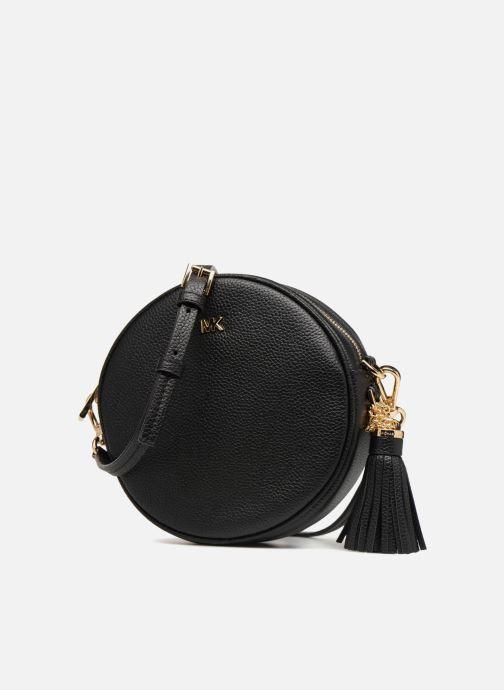 a4917563872be ... detaillierte ansicht modell. Handtaschen Michael Michael Kors CANTEEN  MD schwarz schuhe getragen