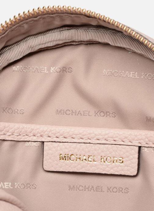 Sacs à main Michael Michael Kors CANTEEN MD Rose vue derrière
